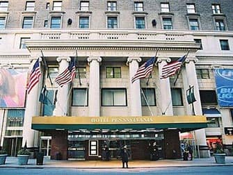 Pennsylvania Hotel in NYC - Exterior