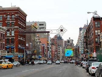 Chinatown in New York City