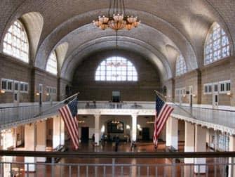 Ellis Island Building New York