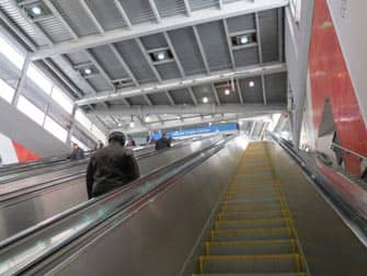 PATH in New York - Escalator