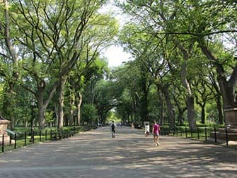 Upper East Side in New York - Central Park