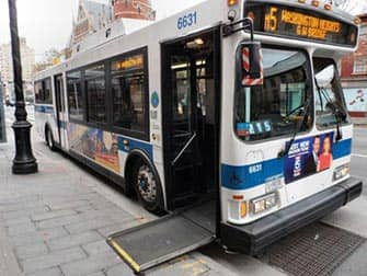 Facilities for Disabled People in New York - Bus