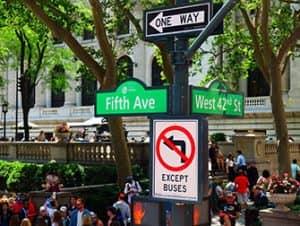 Finding your way around New York