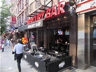 Mercury Bar in New York
