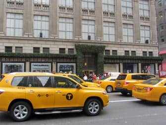 yellow cabs on the streets of new york