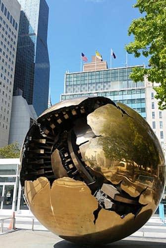 United Nations in New York - Globe