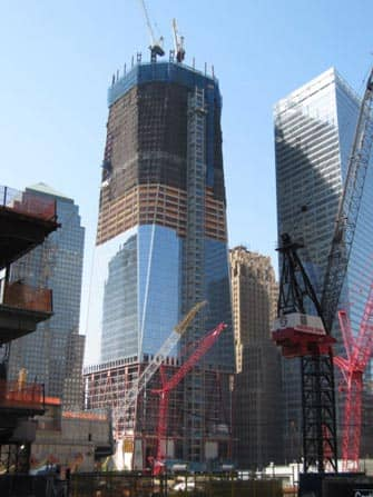 One World Trade Center - Freedom Tower construction