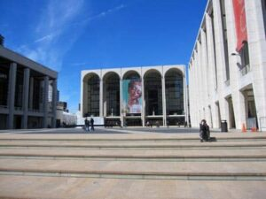Lincoln Center Outside