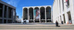 Lincoln Center Outside