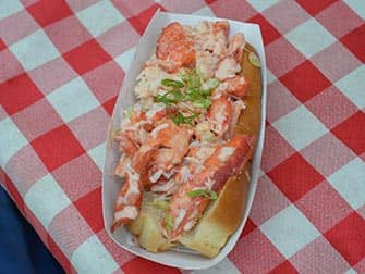 New York Markets - Lobster Roll at Smorgasburg