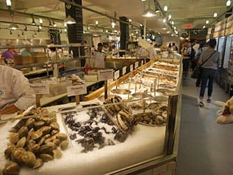 New York Markets - Sea food at Chelsea Market