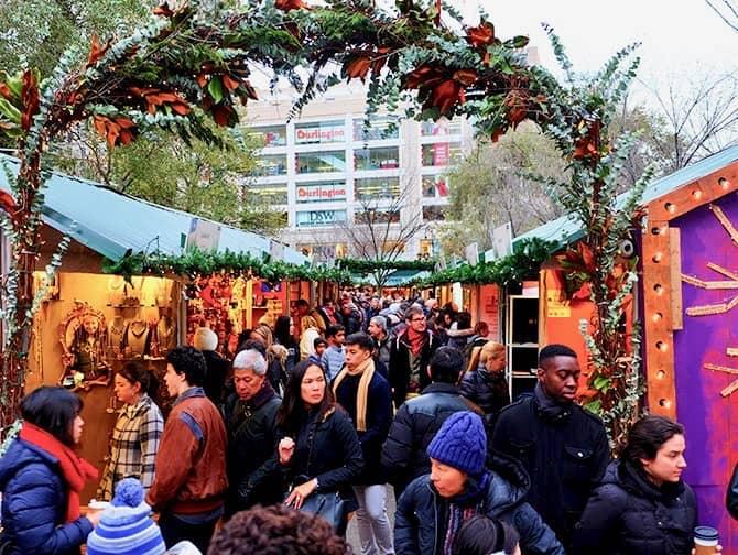 New York Markets - Union Square Christmas Market