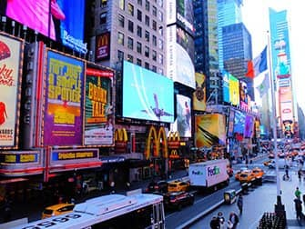 Times Square in New York - By Day