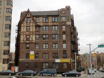 Building in the Bronx in New York