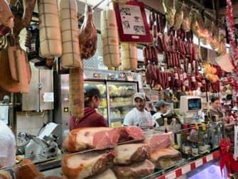 Italian Market in the Bronx New York