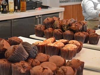 Yotel in New York - Breakfast Muffins