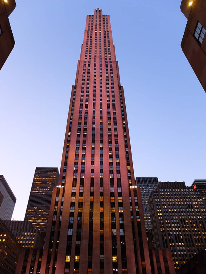 Rockefeller Center in New York - Comcast Building