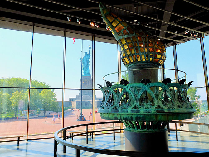 Statue of Liberty - The Torch