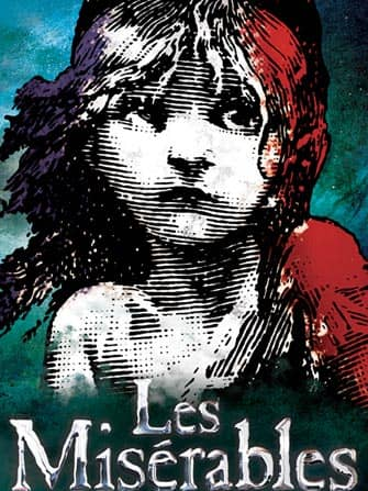 Les Miserables the musical in New York City