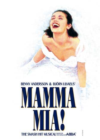 Mamma Mia on Broadway in New York City