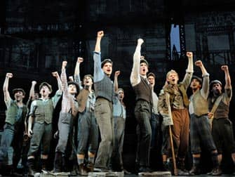 Newsies on Broadway in New York City