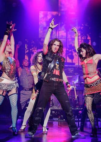 Rock of Ages on Broadway in New York City