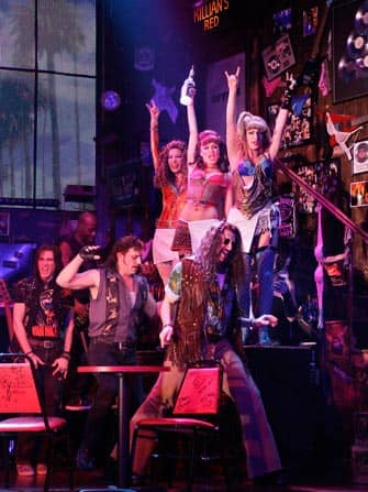 Rock of Ages the Musical in New York City