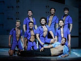 The Musical Mamma Mia in New York