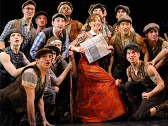 The Musical Newsies in New York