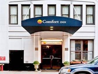 Comfort Inn Central Park - Entrance