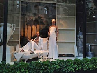 Upper East Side Shopping in NYC - Window Display