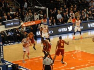 Madison Square Garden Knicks Game