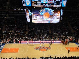 New York Knicks Game in Madison Square Garden