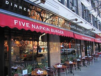 Five Napkin Burger in New York