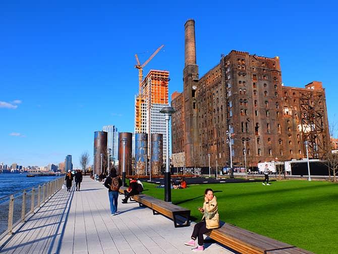 Parks in New York - Domino Park