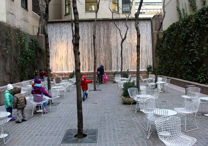Parks in New York - Paley Park