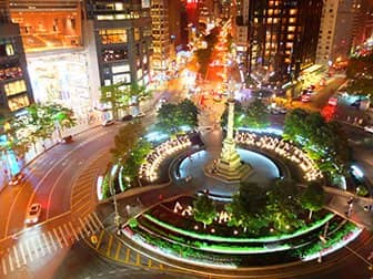 Romantic Restaurants and Bars in New York - View from Robert NYC