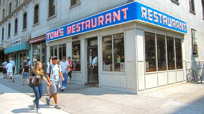 Tom's Restaurant in New York