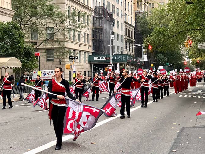 Columbus Day in New York - Parade