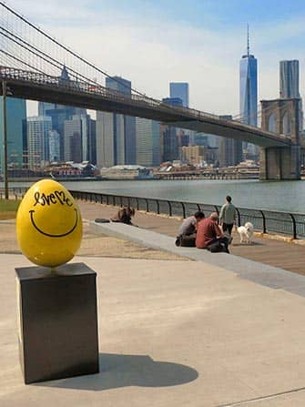 Easter in New York - Yellow Easter Egg
