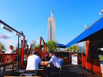 The Best Rooftop Bars of New York - 230 Fifth By Day