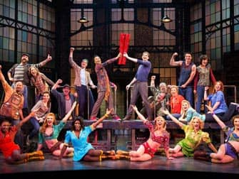 kinky boots musical on broadway new york