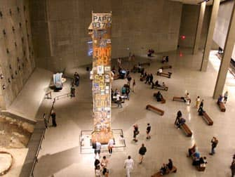 911 Museum in New York - Foundation Hall