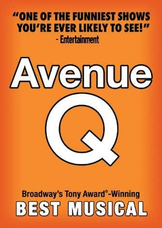 Avenue Q in New York - Poster