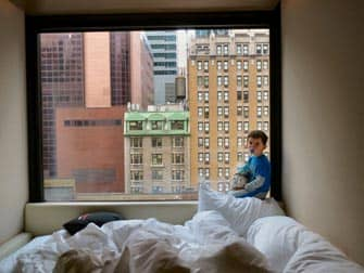 citizenM times square hotel view