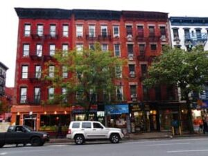 East Village 4th and 1st new york