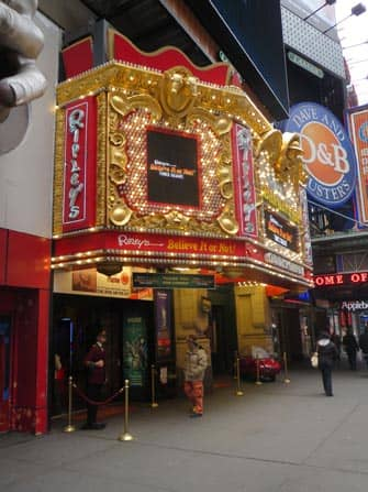 Ripley's Believe it or Not in New York - Exterior