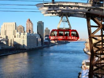 tram to and from Roosevelt Island