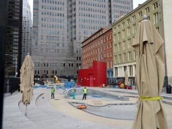South Street Seaport Playground in New York