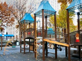 The Madison Square Park Playground in New York